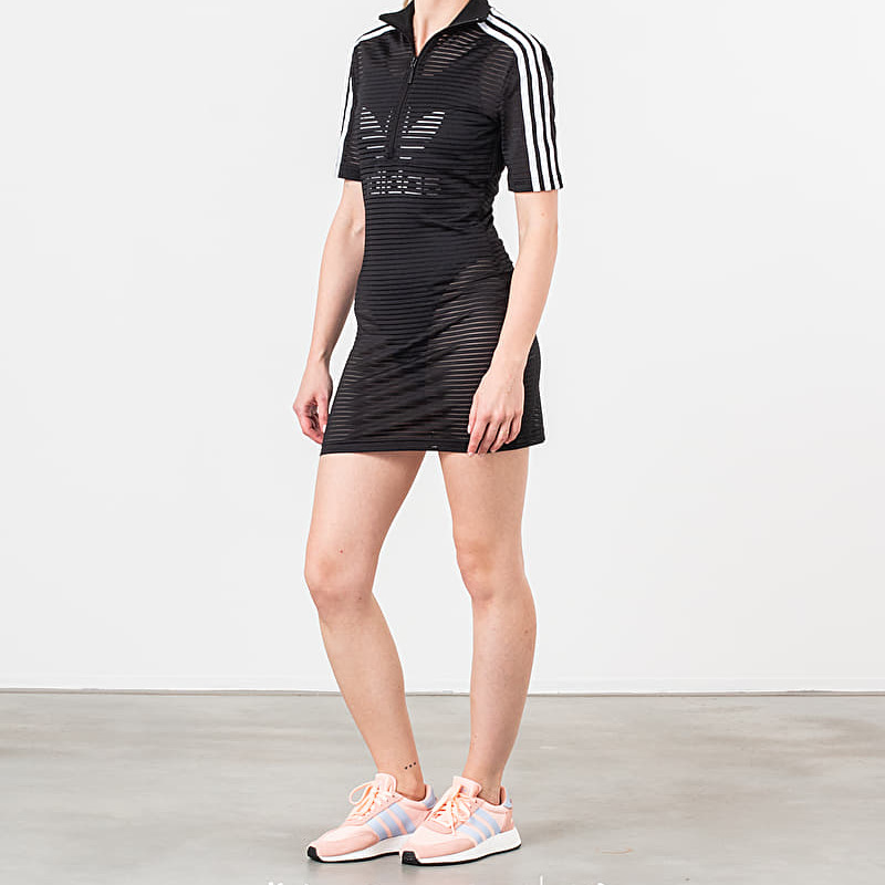 adidas x Fiorucci Firebird Dress Black White