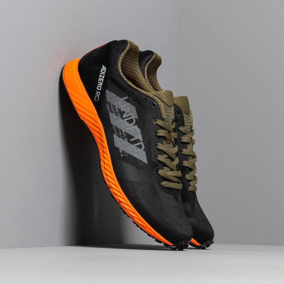 adidas x Undefeated Adizero RC Black-White/ Light Grey Heather/ Orange EUR 42