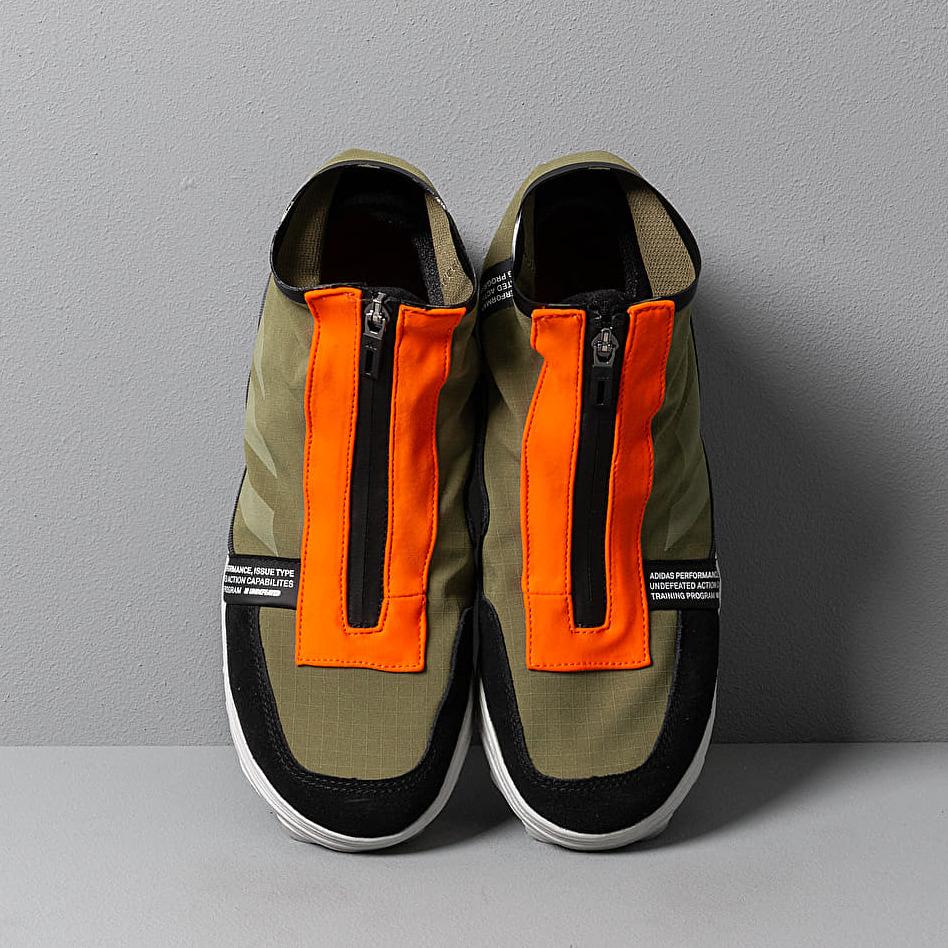adidas x Undefeated GSG9 Olive Cargo/ Light Grey Heather/ Orange, Green