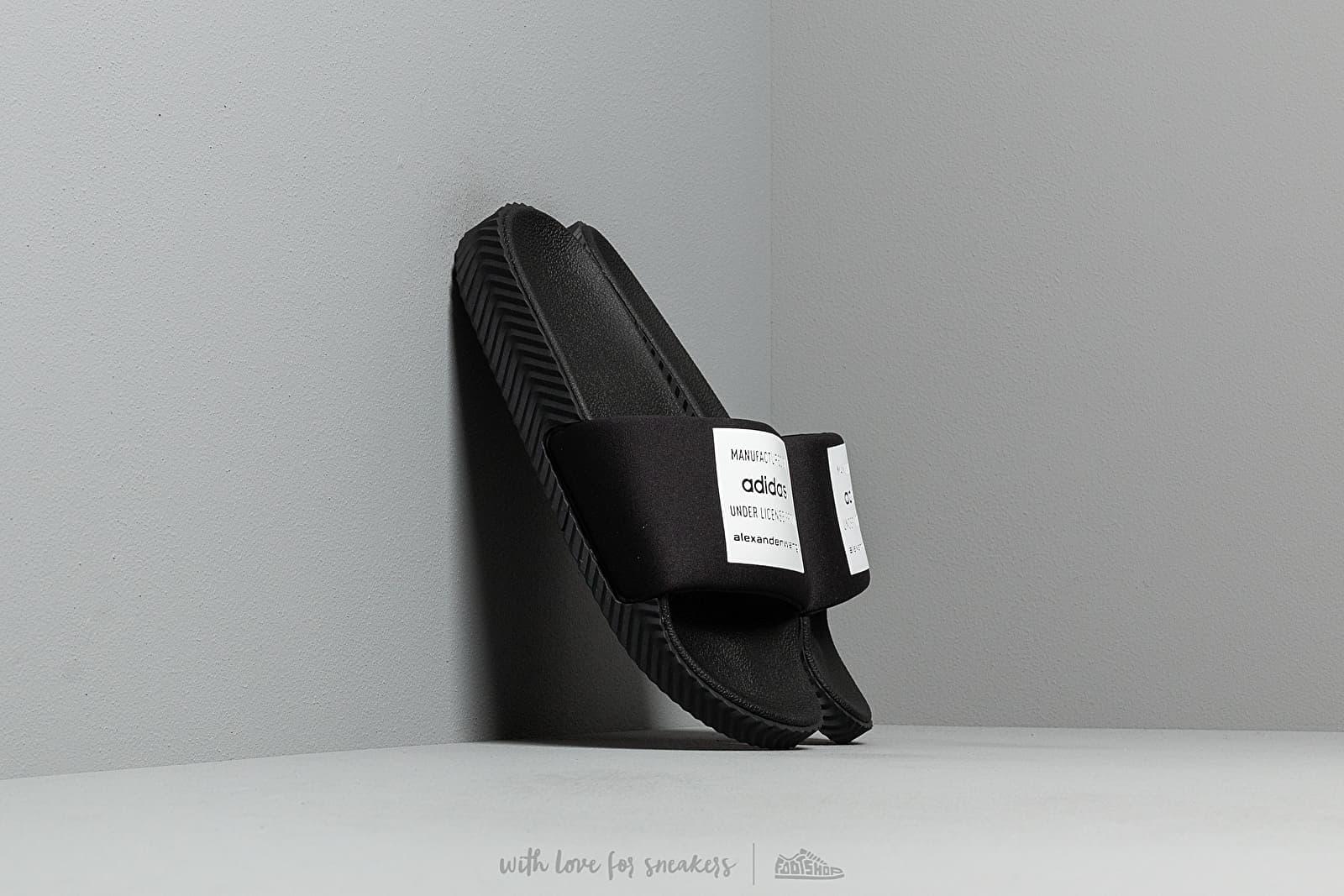 adidas x Alexander Wang Adilette Lycra Core Black/ Core Black/ Core White za skvělou cenu 2 340 Kč koupíte na Footshop.cz