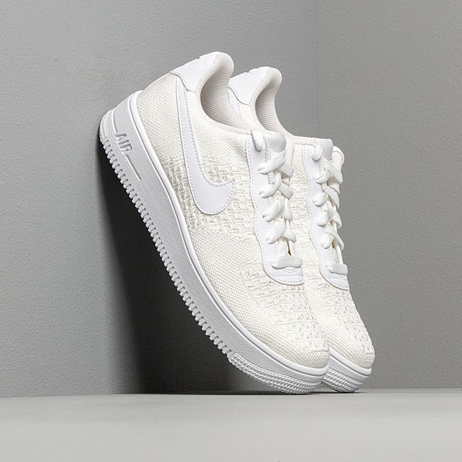 Nike Air Force 1 Flyknit 2.0 (GS) White/ White-White EUR 40