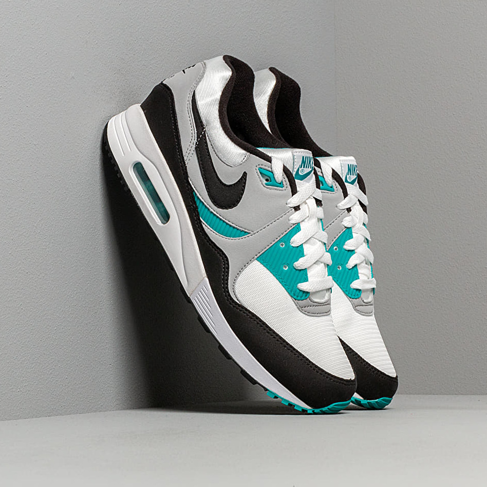 Nike Air Max Light White/ Black-Wolf Grey-Spirit Teal EUR 44