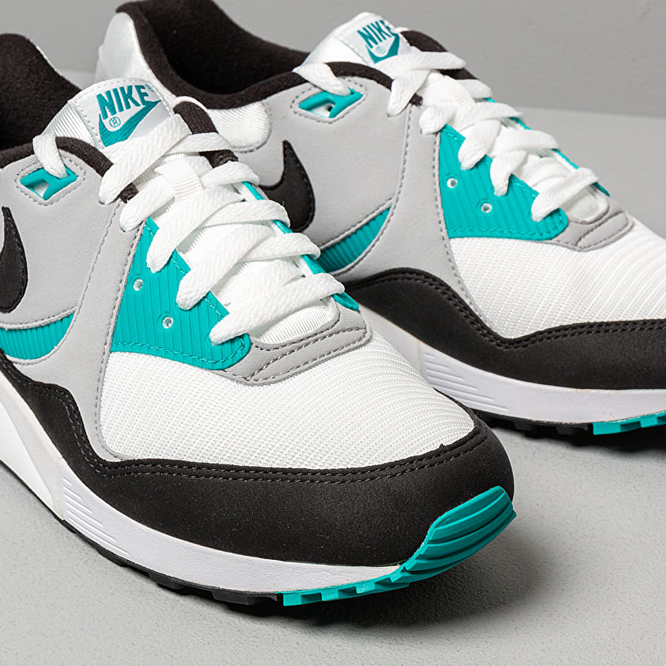 Nike Air Max Light White/ Black-Wolf Grey-Spirit Teal