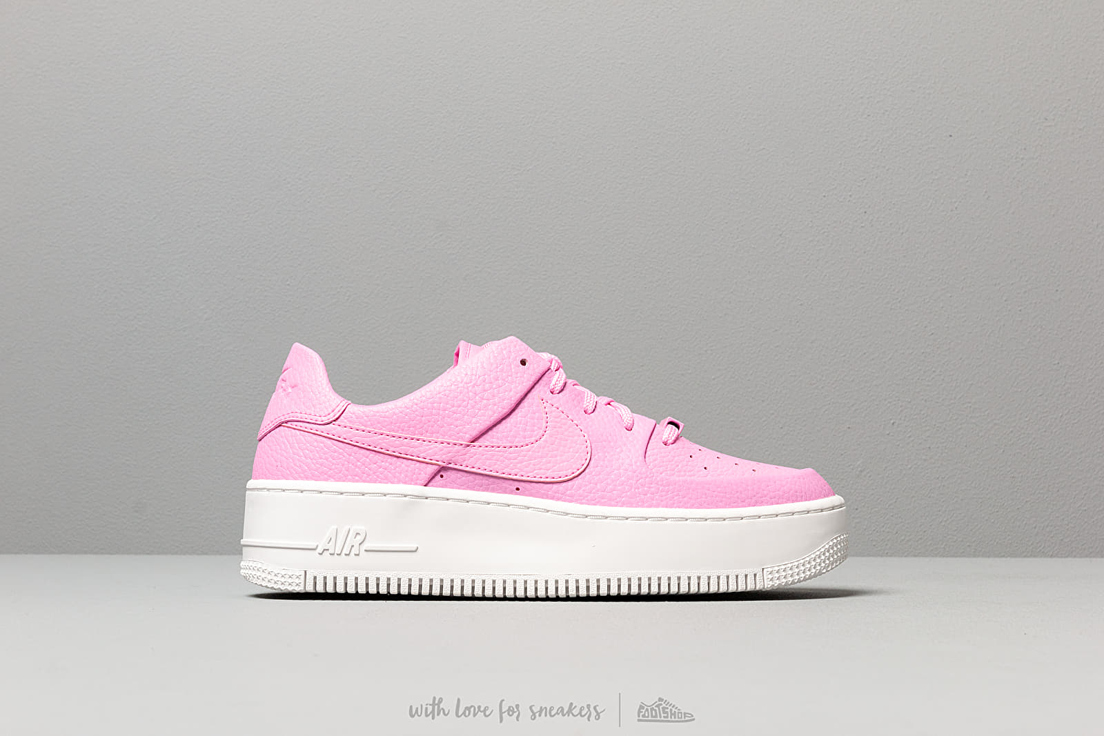 nike air force 1 sage low pink