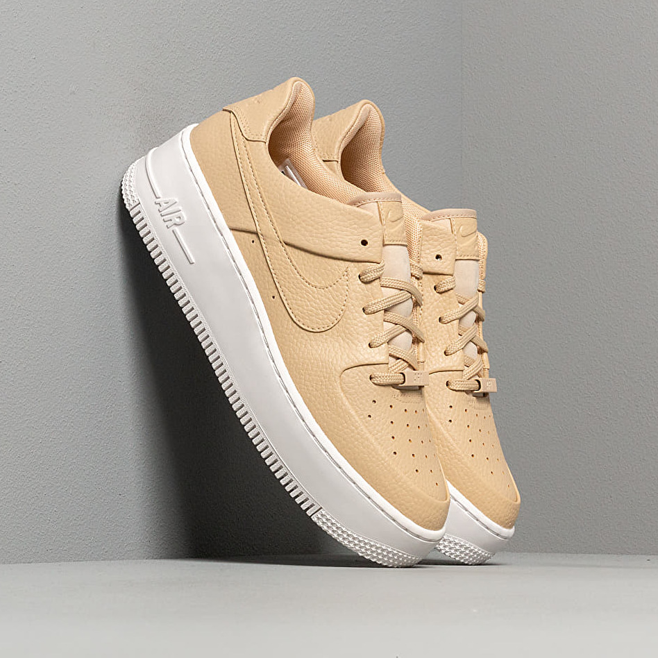 Nike W Air Force 1 Sage Low Desert Ore/ Desert Ore-White, Brown