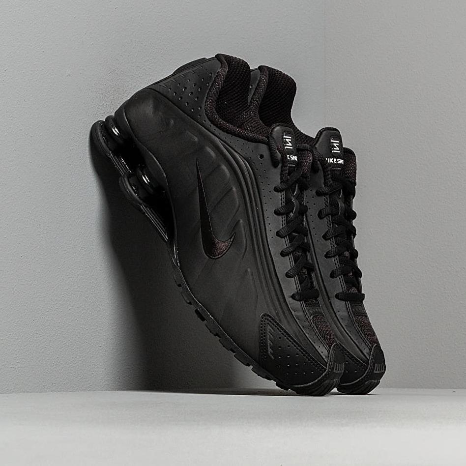Nike Shox R4 Black/ Black-Black-White EUR 42.5