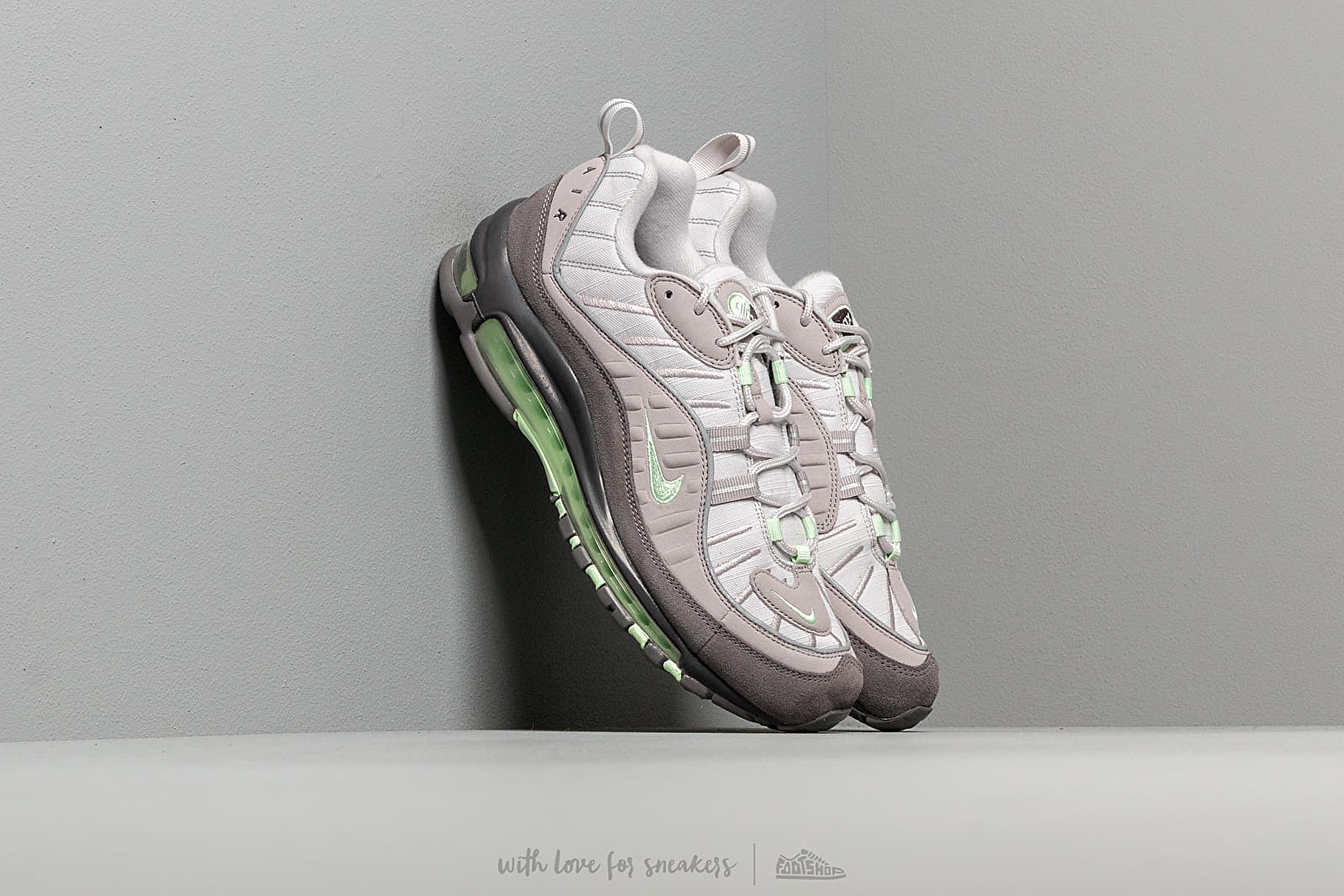 e2ea6f9d Nike Air Max 98 Vast Grey/ Fresh Mint-Atmosphere Grey at a great price