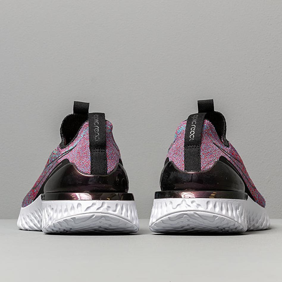 Nike Epic Phantom React Flyknit Black/ Black-University Red-Hyper Jade, Purple