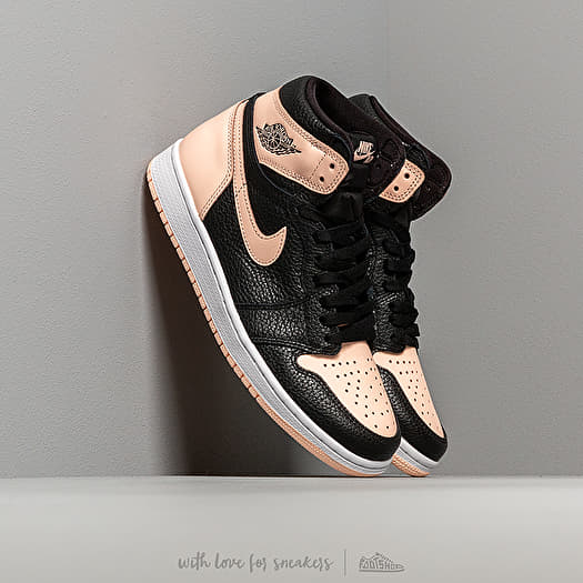 b5cf274e88e05 Air Jordan 1 Retro High Og Black/ Crimson Tint-White-Hyper Pink