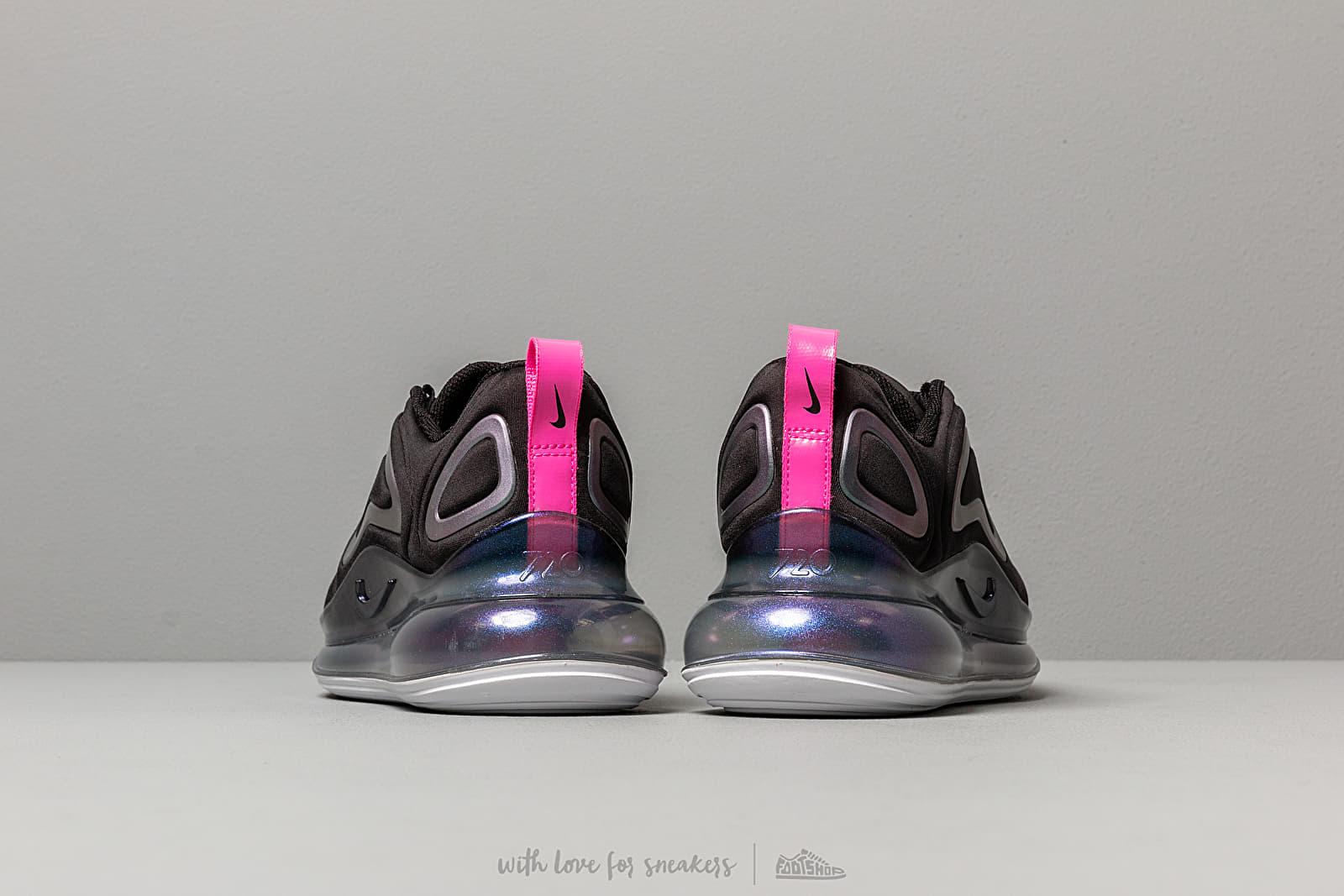 Nike W Air Max 720 Se Black Laser Fuchsia White | Footshop