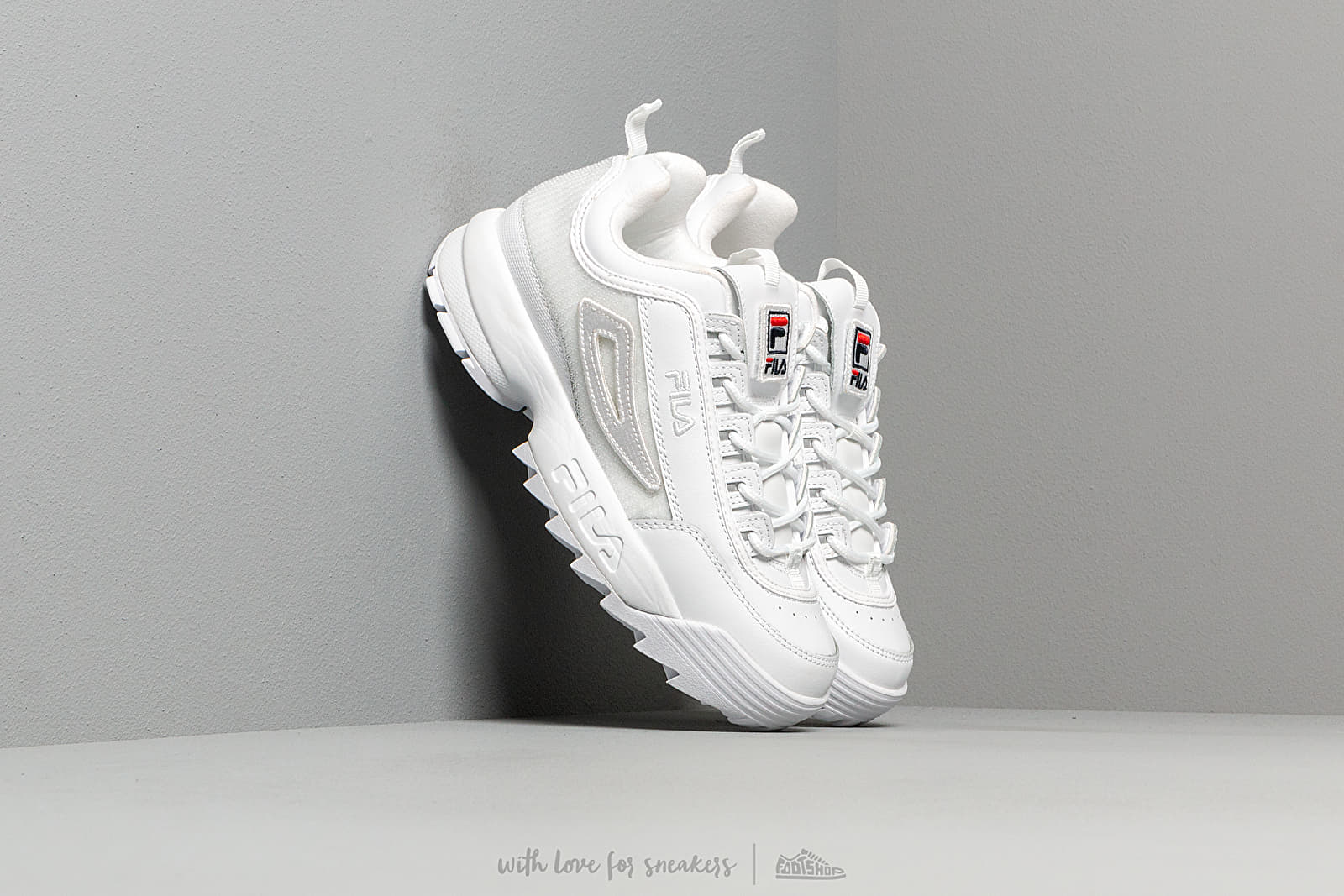 FILA Disruptor II Patches Wmn White at a great price 125 € buy at Footshop