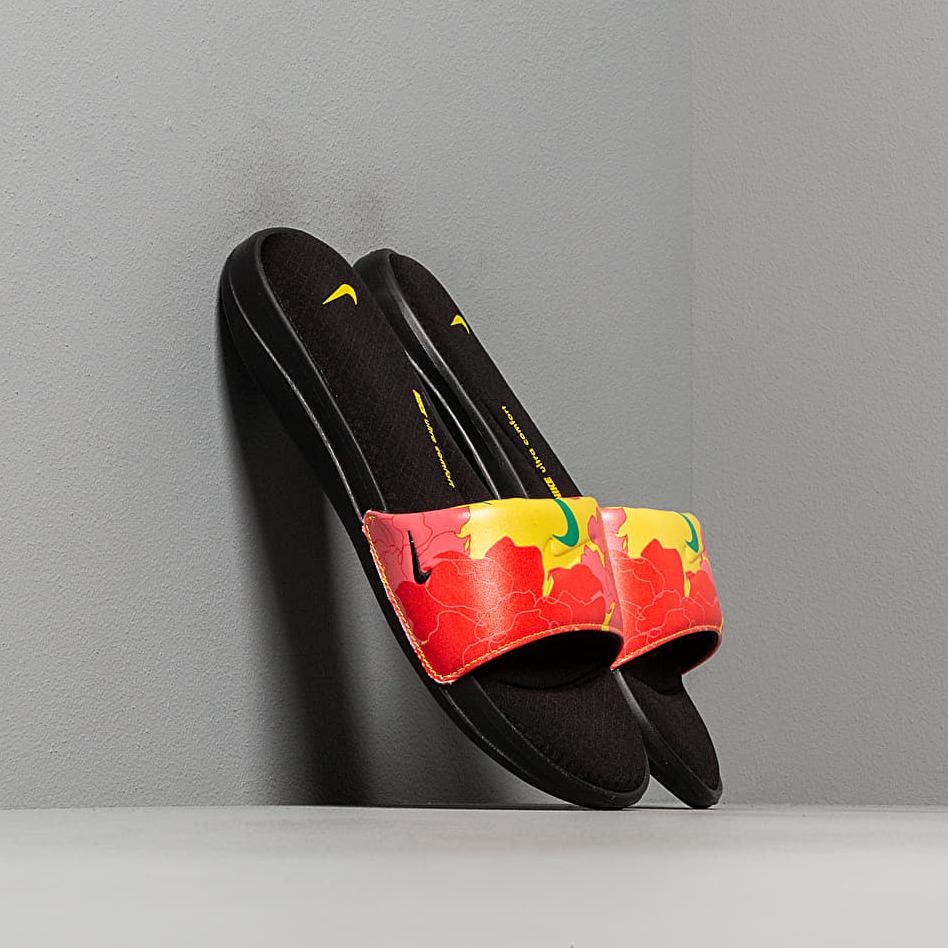 Nike Wmns Ultracomfort3 Sldprt Black/ Pink Gaze -Opti Yellow-Lucid Green EUR 38