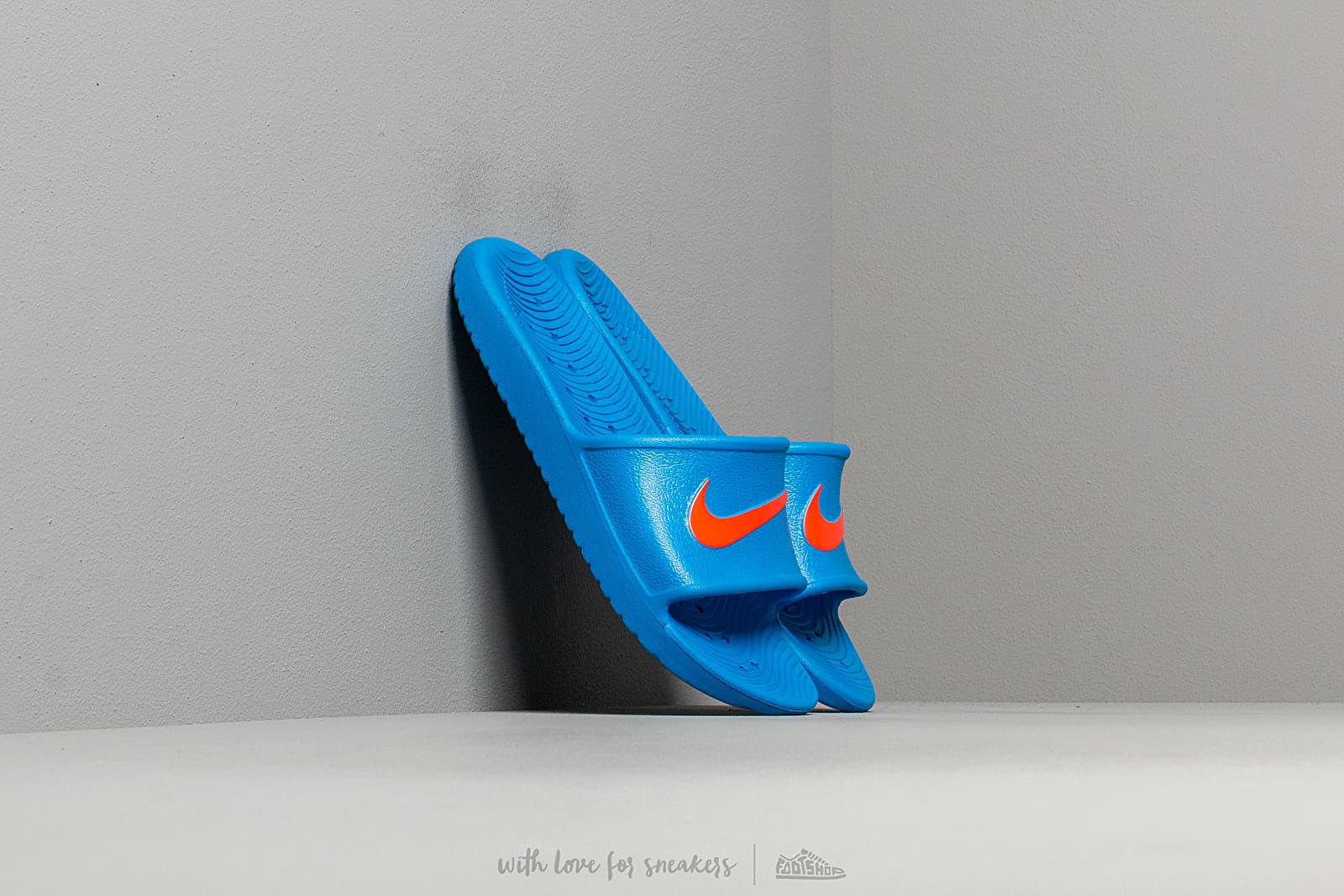 Nike Kawa Shower (GS/PS) Photo Blue/ Bright Crimson za skvělou cenu 490 Kč koupíte na Footshop.cz