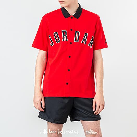 tira Nombrar Roux  Shirts Jordan DNA Distorted Shirt Red | Footshop