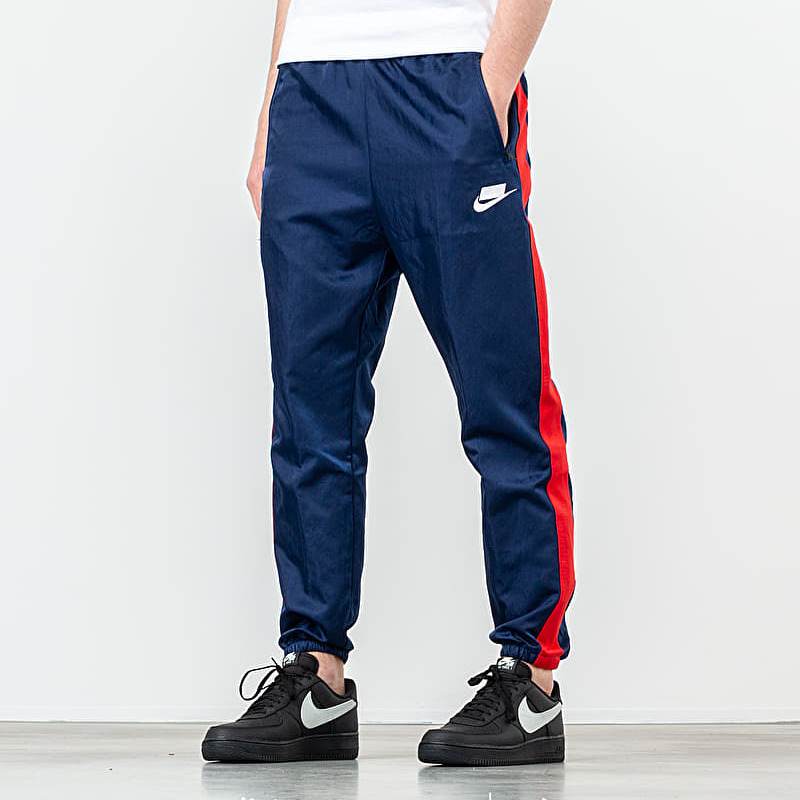 Nike Sportswear Woven Pant Blue Void/ University Red/ White