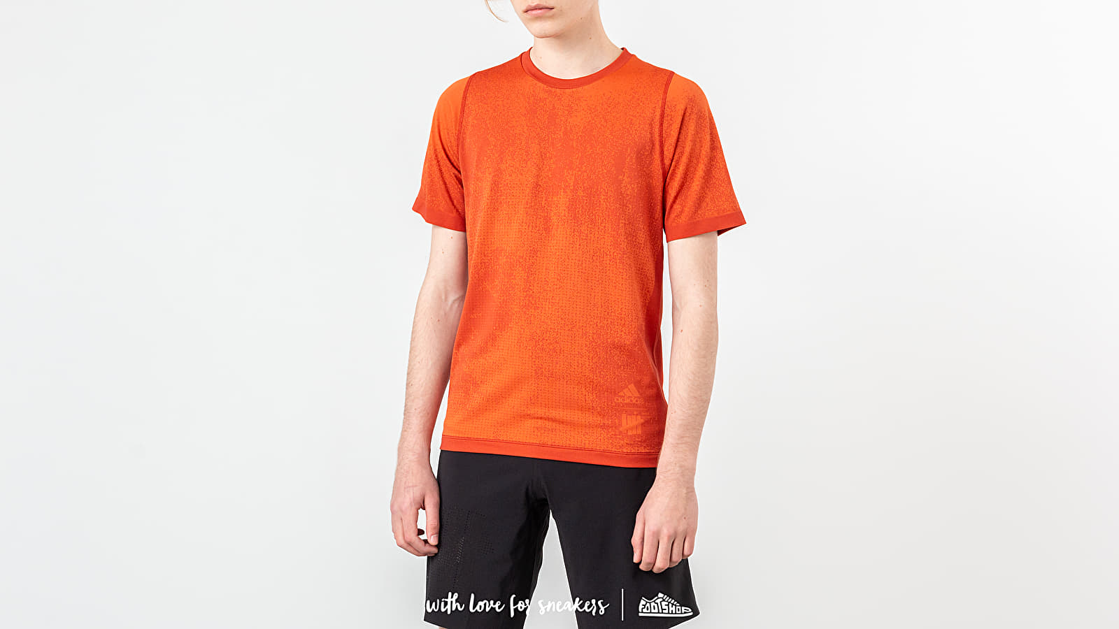 Pólók adidas x Undefeated Knit Tee Orange