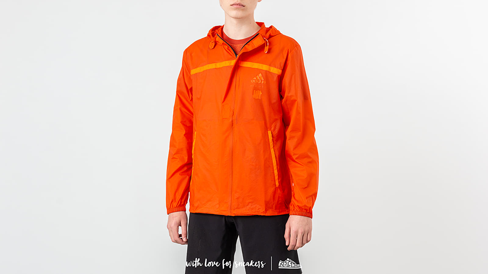 Vetrovke adidas x Undefeated Pack Jacket Orange