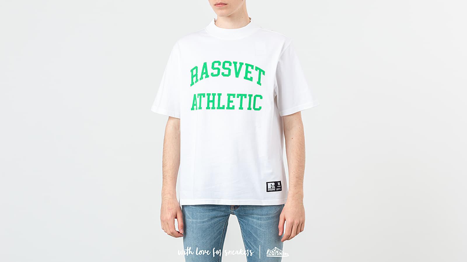 b21a705c55 PACCBET x Russell Athletic Printed Tee White/ Green nagyszerű árakon 13 729  Ft vásárolj a