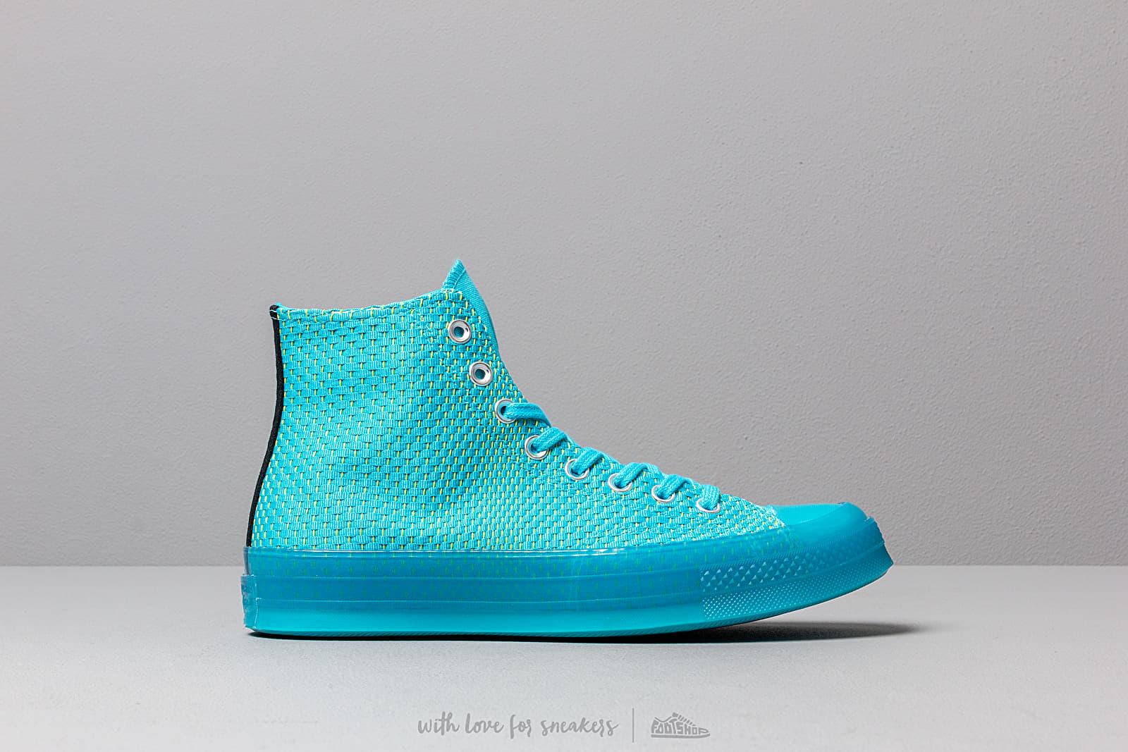 098dfd25cd715 Converse Chuck Taylor All Star 70 Gnarley Blue  Bold Lime au meilleur prix  103 €