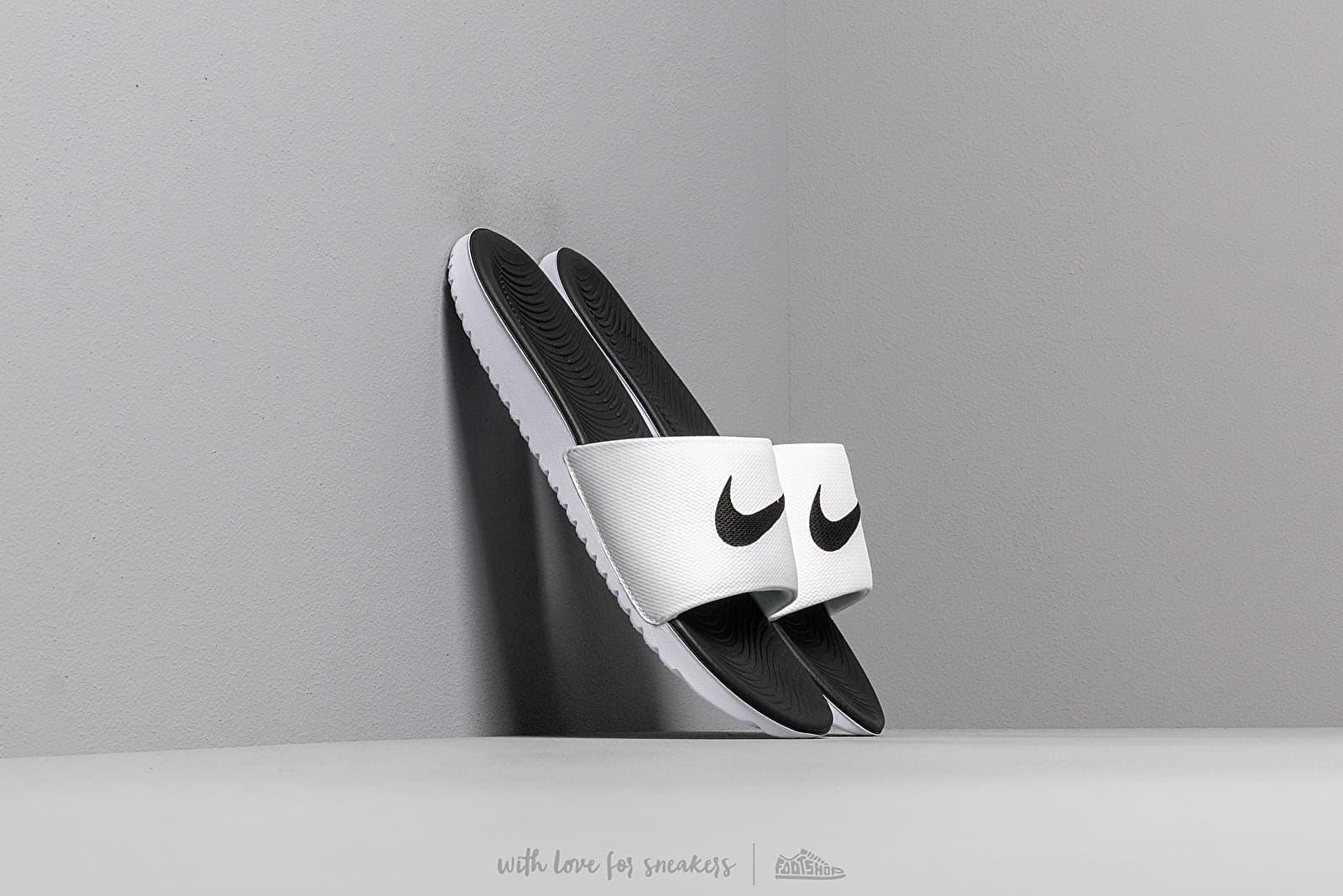 Nike Kawa Slide (GS/PS) White/ Black za skvelú cenu 26 € kúpite na Footshop.sk