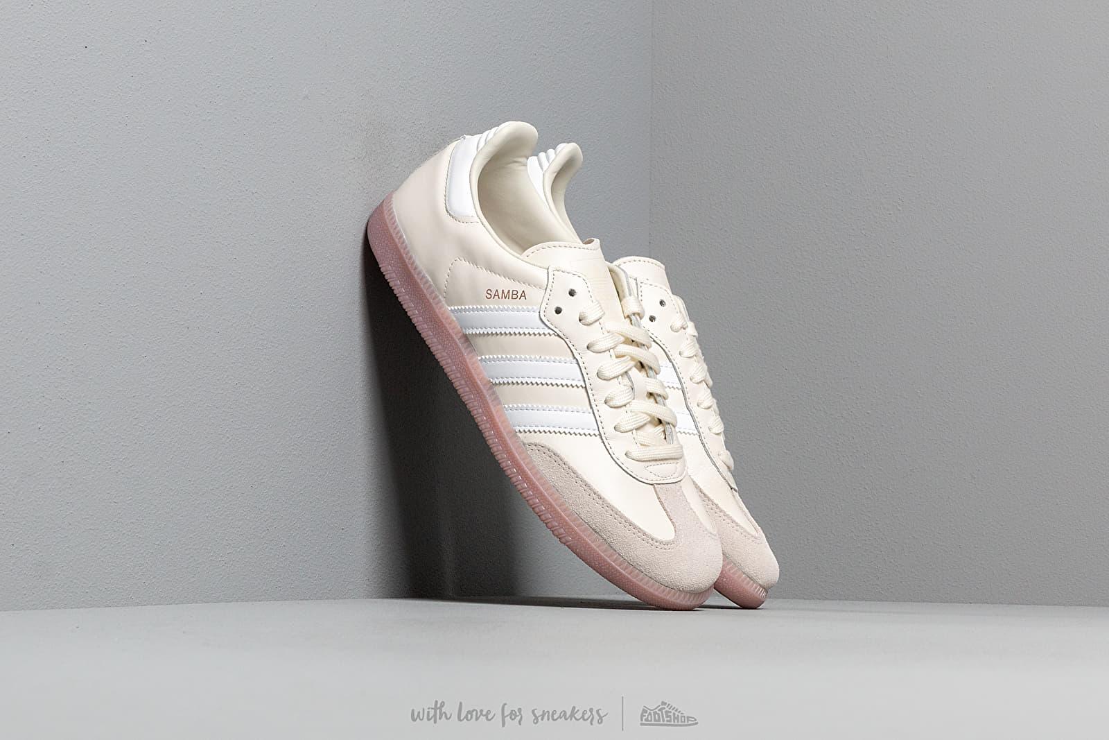 adidas Samba OG W Off White/ Ftw White/ Soft Vision za skvělou cenu 2 340 Kč koupíte na Footshop.cz