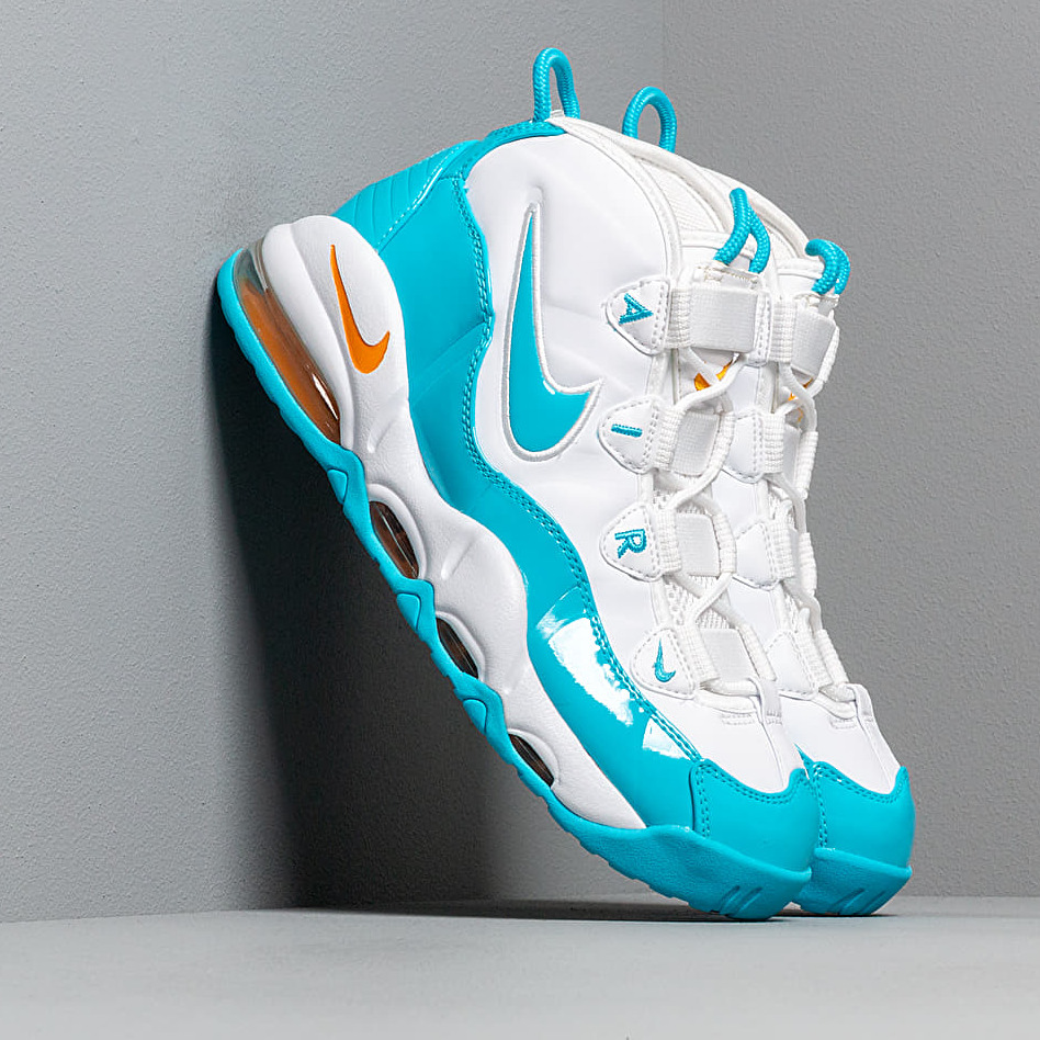 Nike Air Max Uptempo '95 White/ Blue Fury-Canyon Gold EUR 45