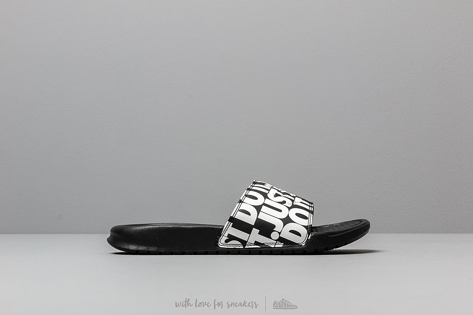reputable site d22fd 1bbe5 Nike Benassi Jdi Print Black  White at a great price £26 buy at Footshop