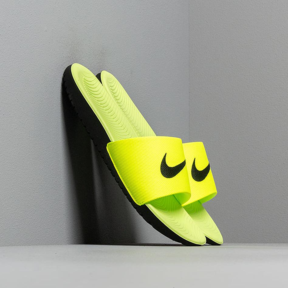 Nike Kawa Slide (Gs/Ps) Volt/ Black EUR 38.5