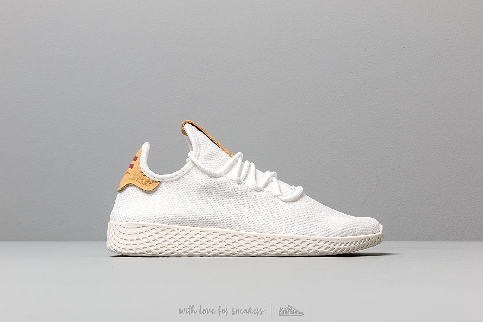 Matemáticas Bebida Tender  Women's shoes adidas Pw Tennis Hu W Ftw White/ Ftw White/ Raw Sand |  Footshop