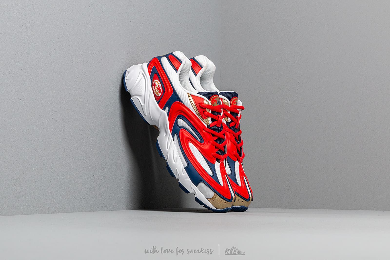 Pánské tenisky a boty FILA Creator Fiery Red/ White/ Estate Blue