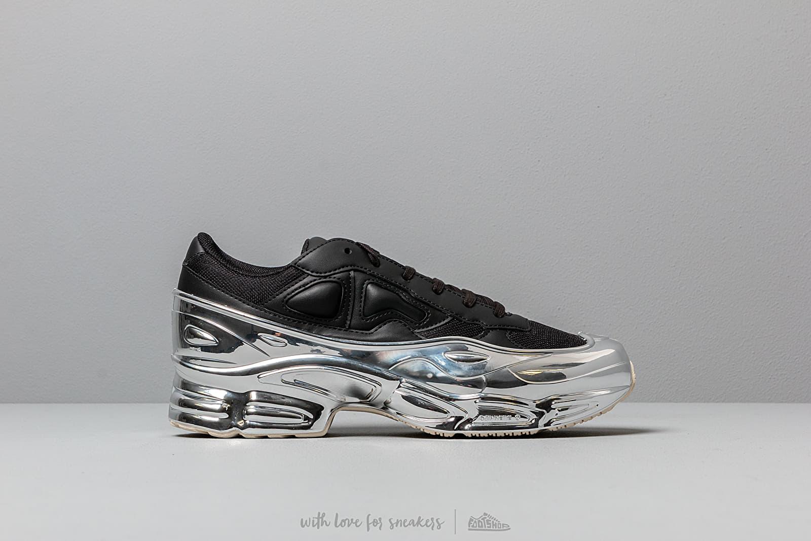 black and silver raf simons