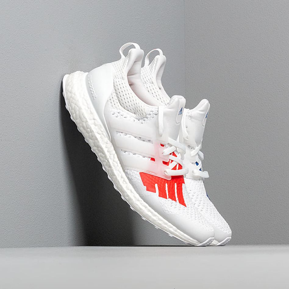 adidas x Undefeated Ultraboost Core White/ Scarlet/ Core White EUR 42 2/3