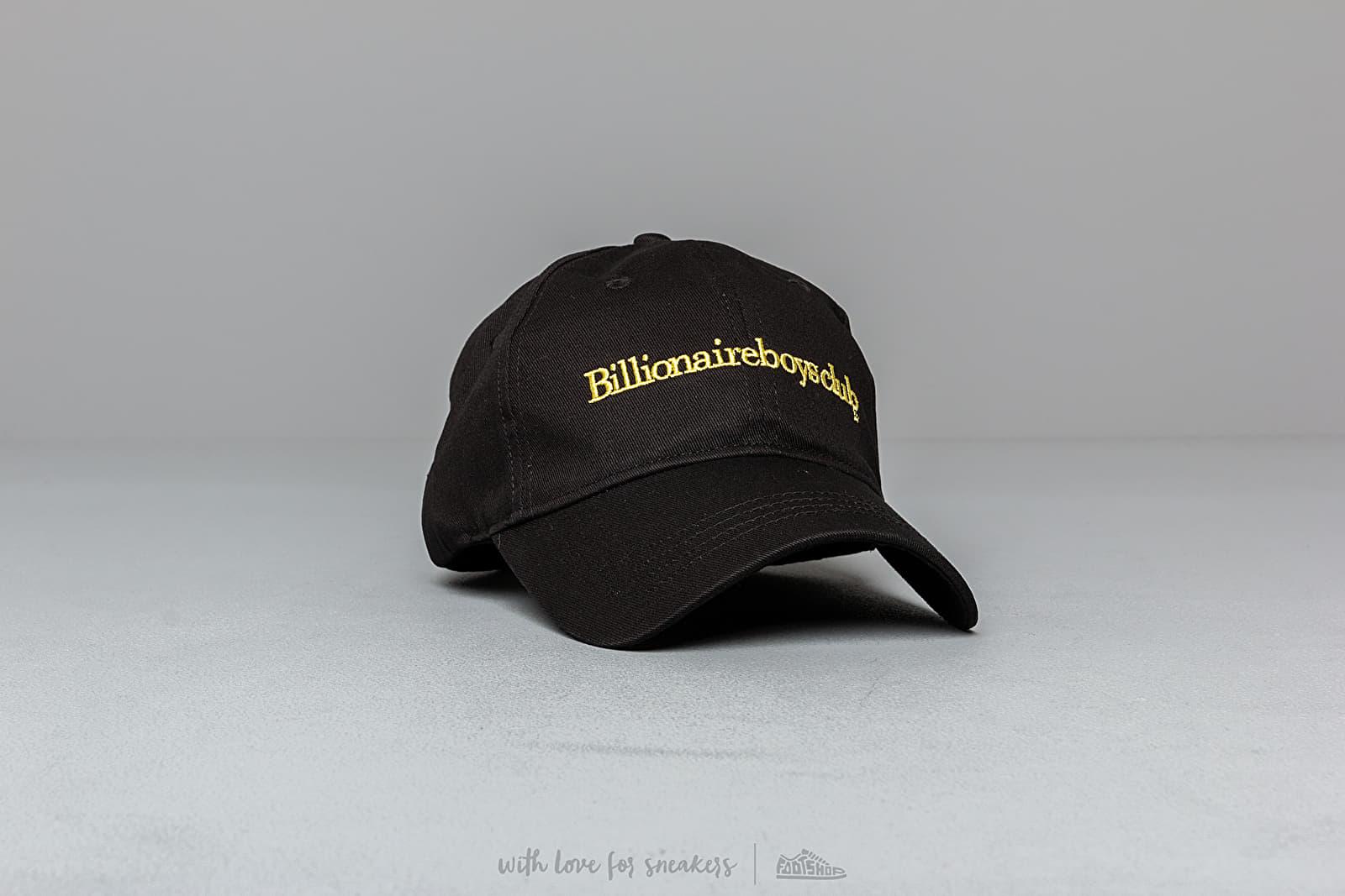 Billionaire Boys Club Embroidered Curved Visor Cap