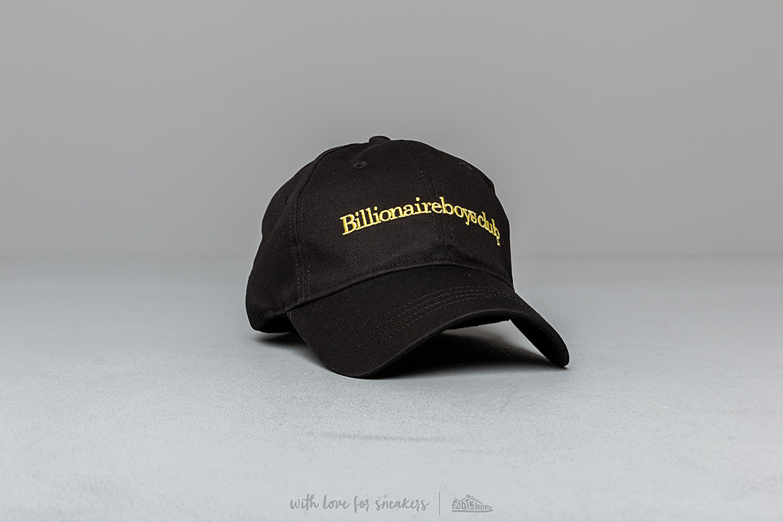 Billionaire Boys Club Embroidered Curved Visor Cap Black za skvelú cenu 68 € kúpite na Footshop.sk