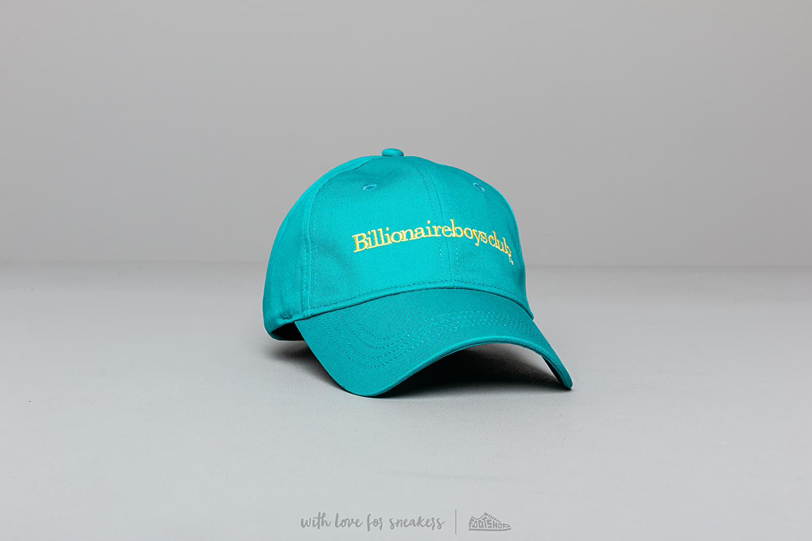 Billionaire Boys Club Embroidered Curved Visor Cap