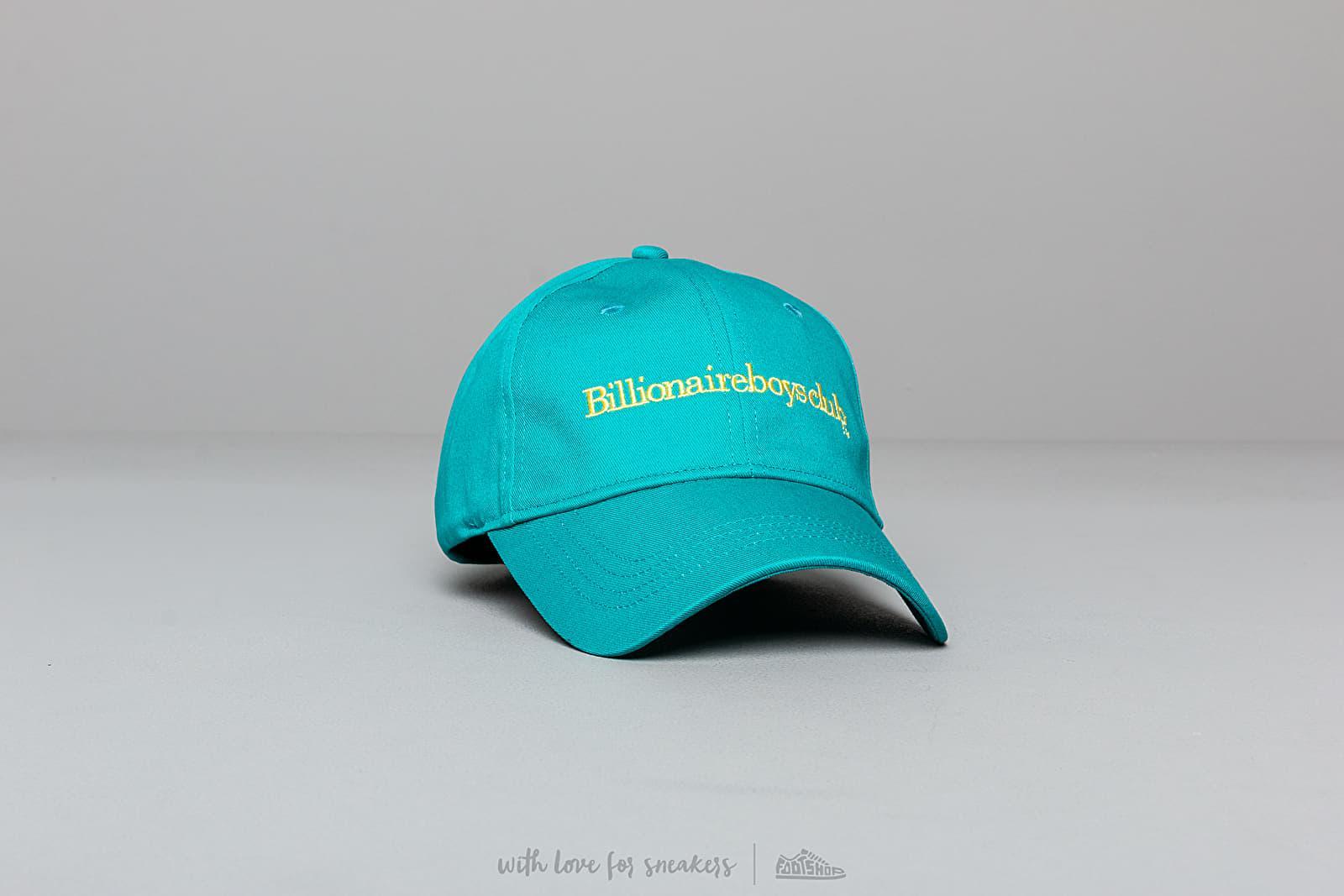 Billionaire Boys Club Embroidered Curved Visor Cap Teal za skvelú cenu 51 € kúpite na Footshop.sk