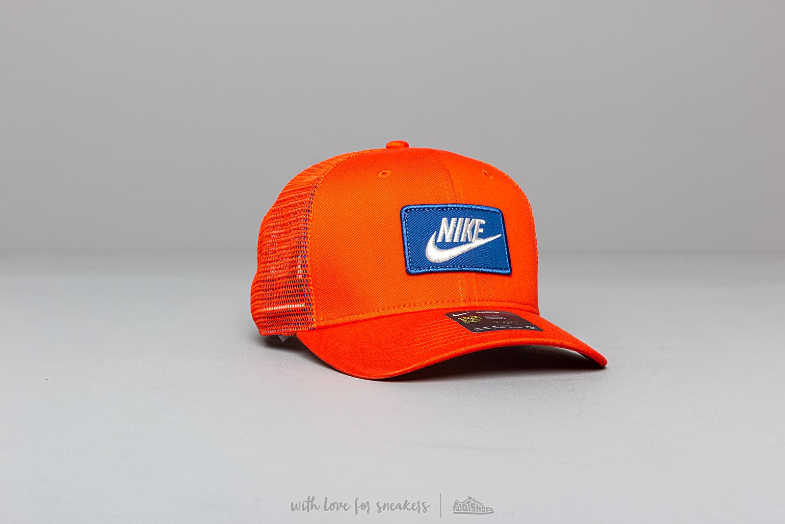 Nike Sportswear CLC 99 Cap Trucker Team Orange