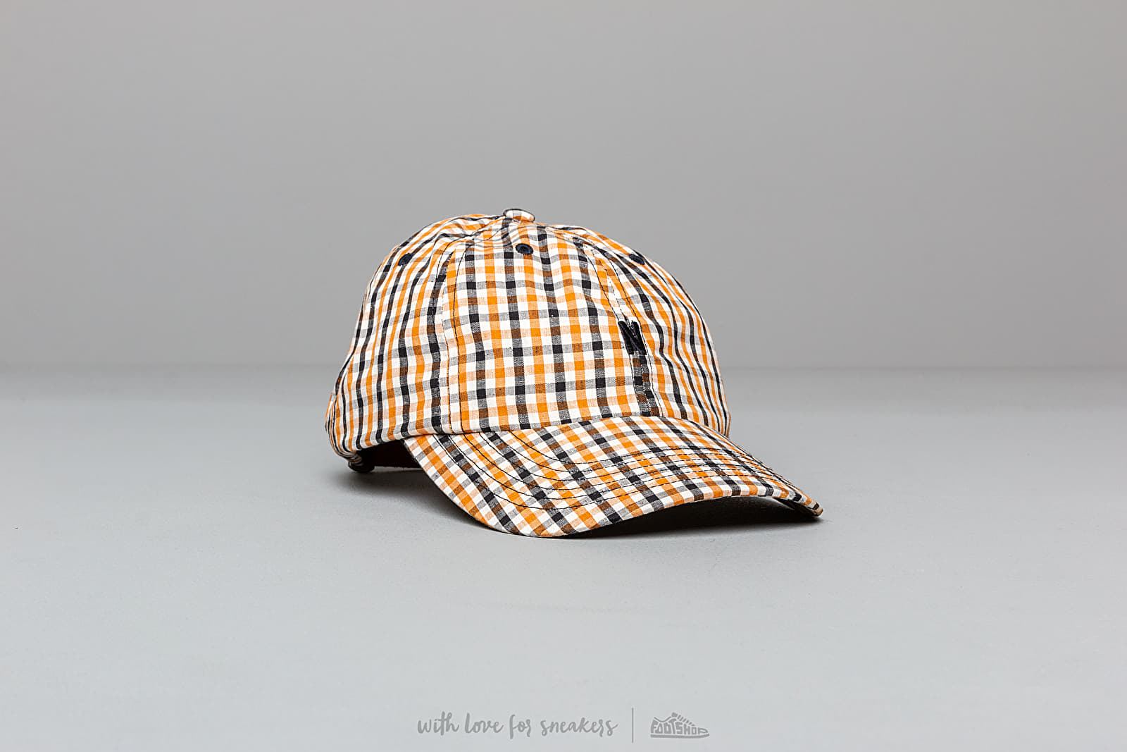 Norse Projects Gingham Sports Cap Sunwashed Yellow za skvelú cenu 63 € kúpite na Footshop.sk