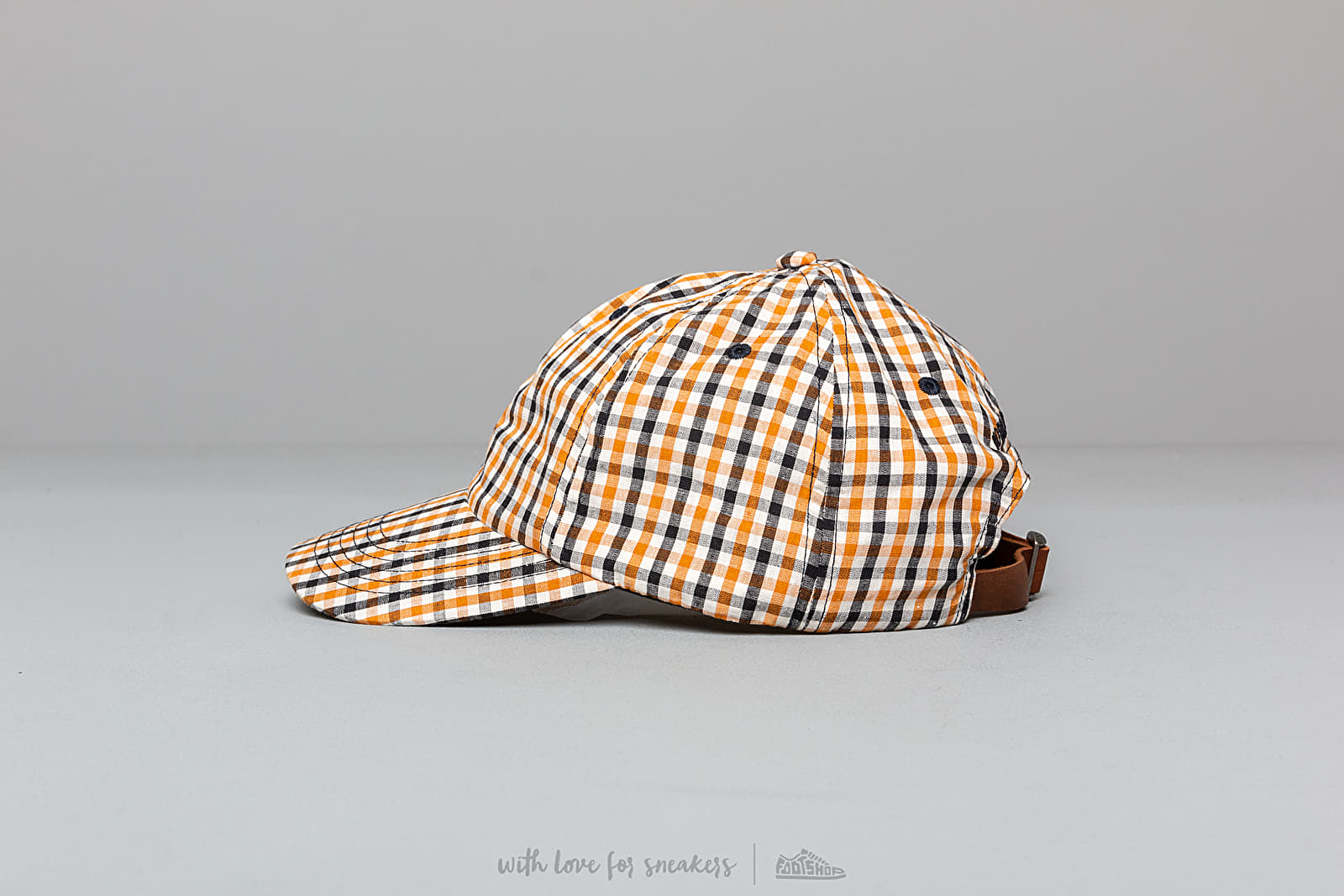 34a5e87d50 Norse Projects Gingham Sports Cap Sunwashed Yellow at a great price $73 buy  at Footshop