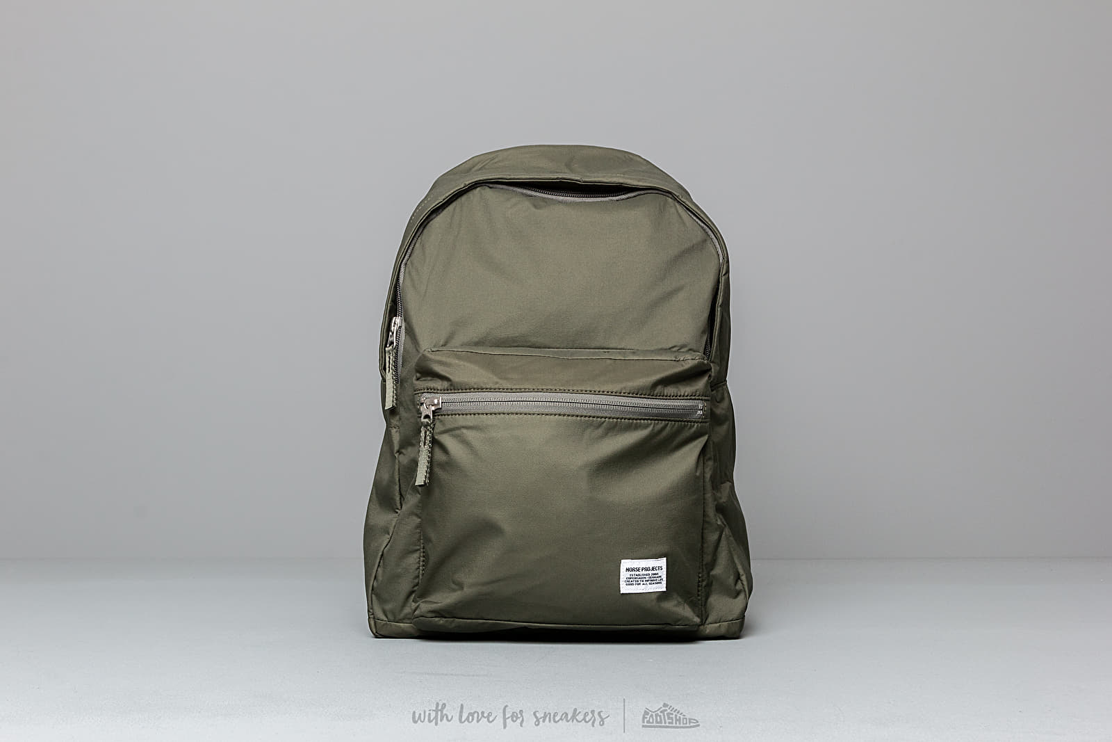 Norse Projects Louie Ripstop Backpack Dried Olive at a great price 137 € buy at Footshop