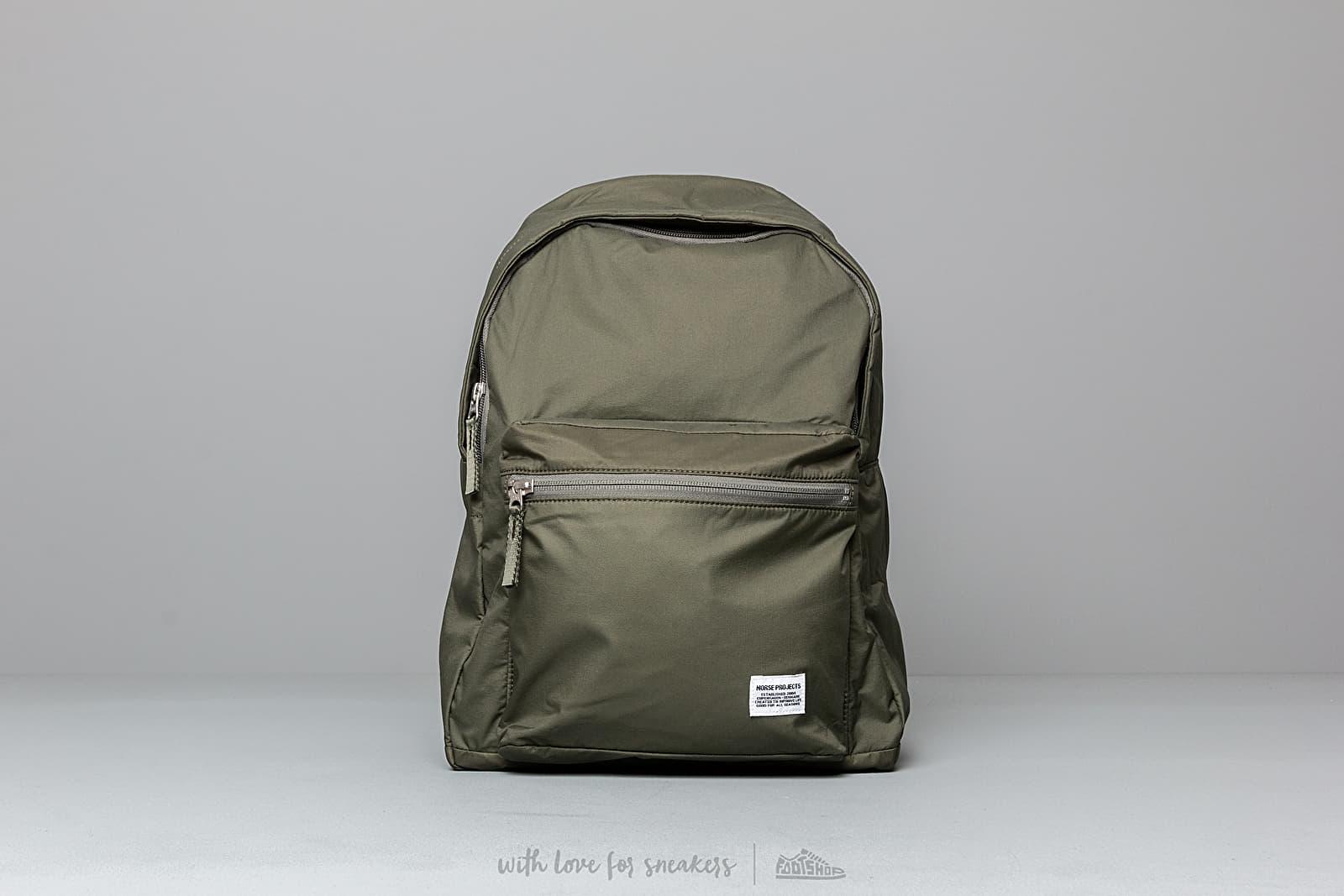 Norse Projects Louie Ripstop Backpack Dried Olive za skvelú cenu 103 € kúpite na Footshop.sk