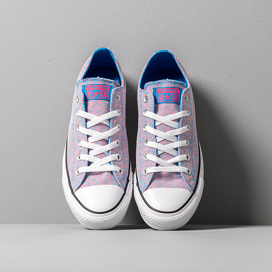 Converse Chuck Taylor All Star OX Totally Blue Racer Pink