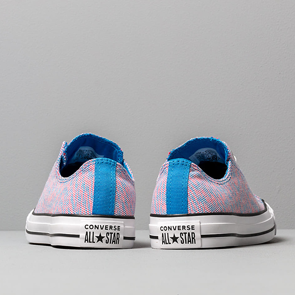 Converse Chuck Taylor All Star OX Totally Blue/ Racer Pink/ White, Multicolour