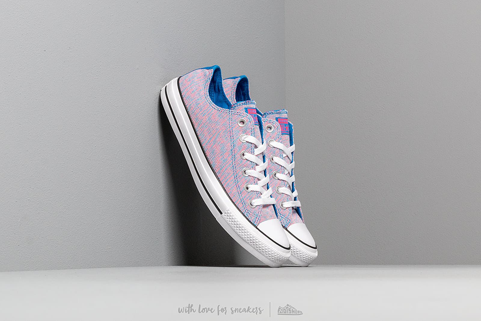 Converse Chuck Taylor All Star OX Totally Blue/ Racer Pink/ White nagyszerű árakon 25 065 Ft vásárolj a Footshopban