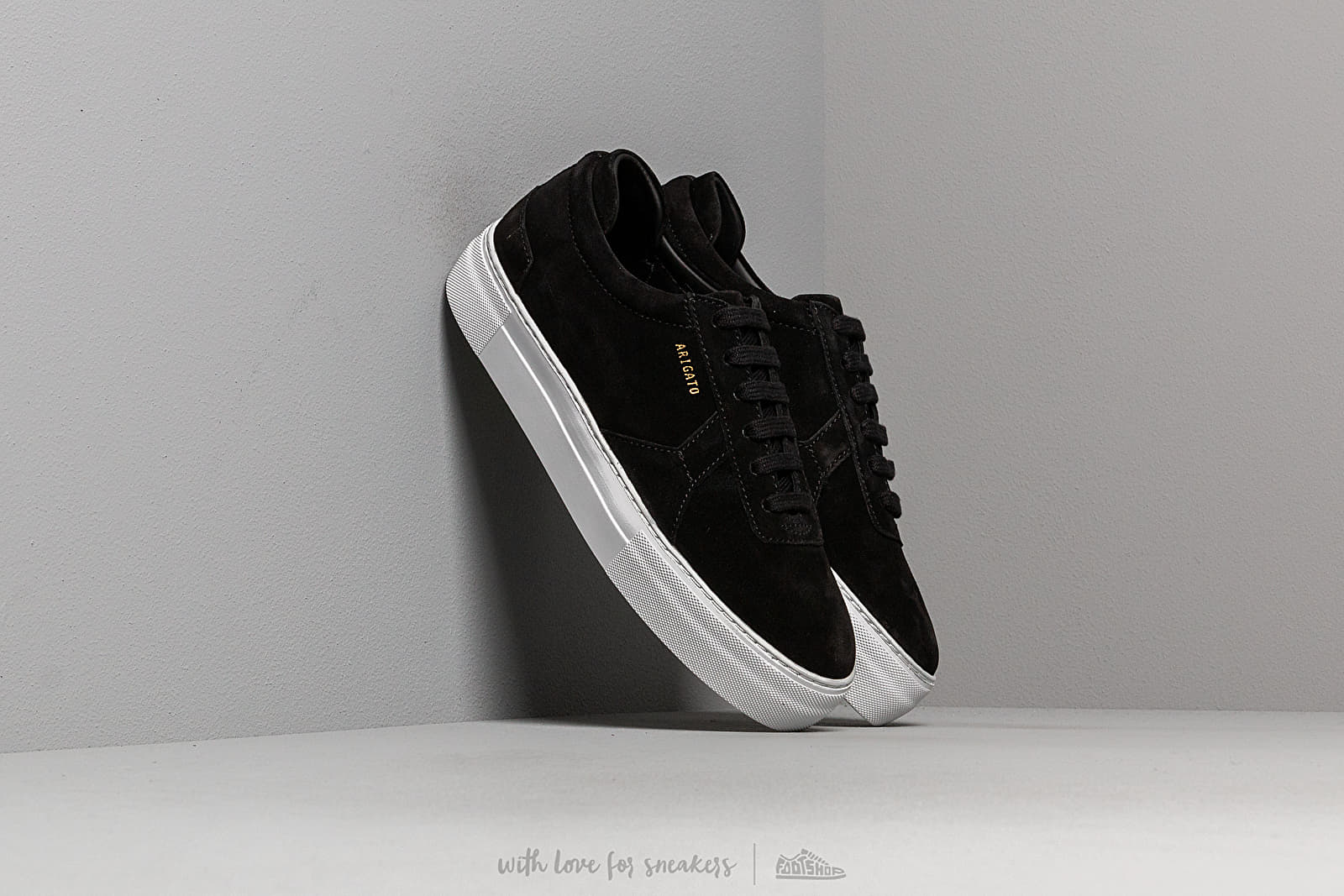 AXEL ARIGATO Platform Sneaker Suede Leather