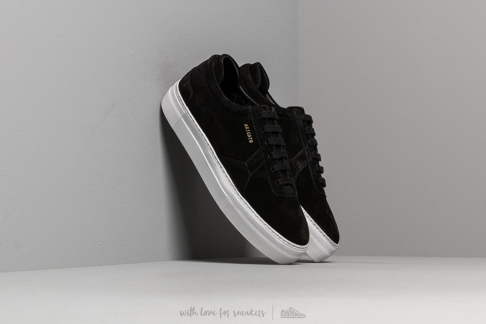 AXEL ARIGATO Platform Sneaker Suede Leather Black za skvělou cenu 4 490 Kč koupíte na Footshop.cz