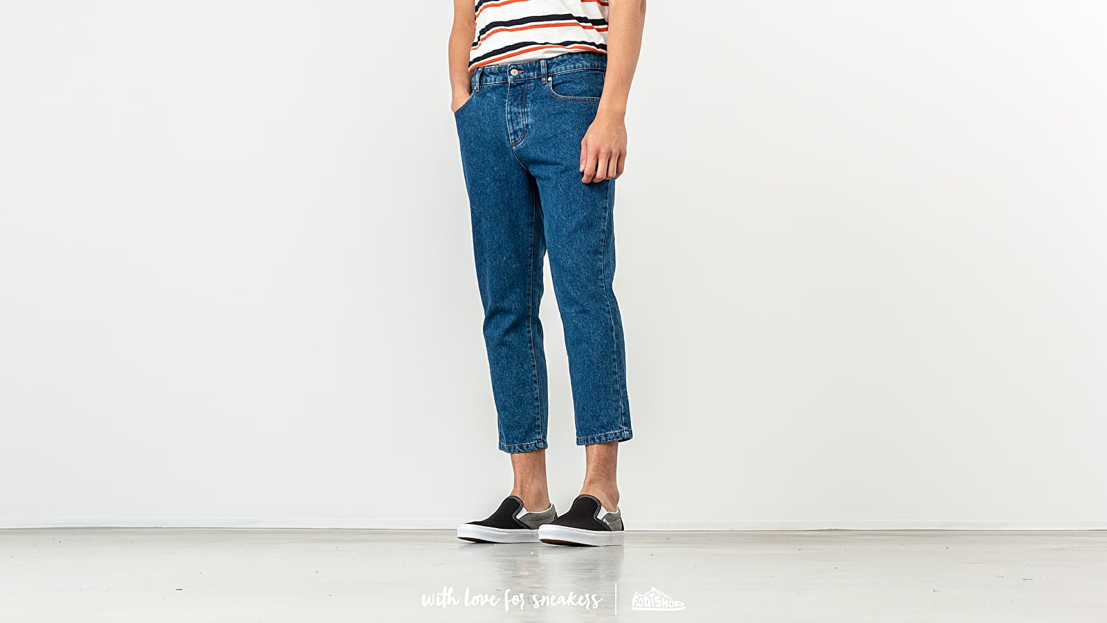 Alexandre Mattiussi Cropped Jeans Washed
