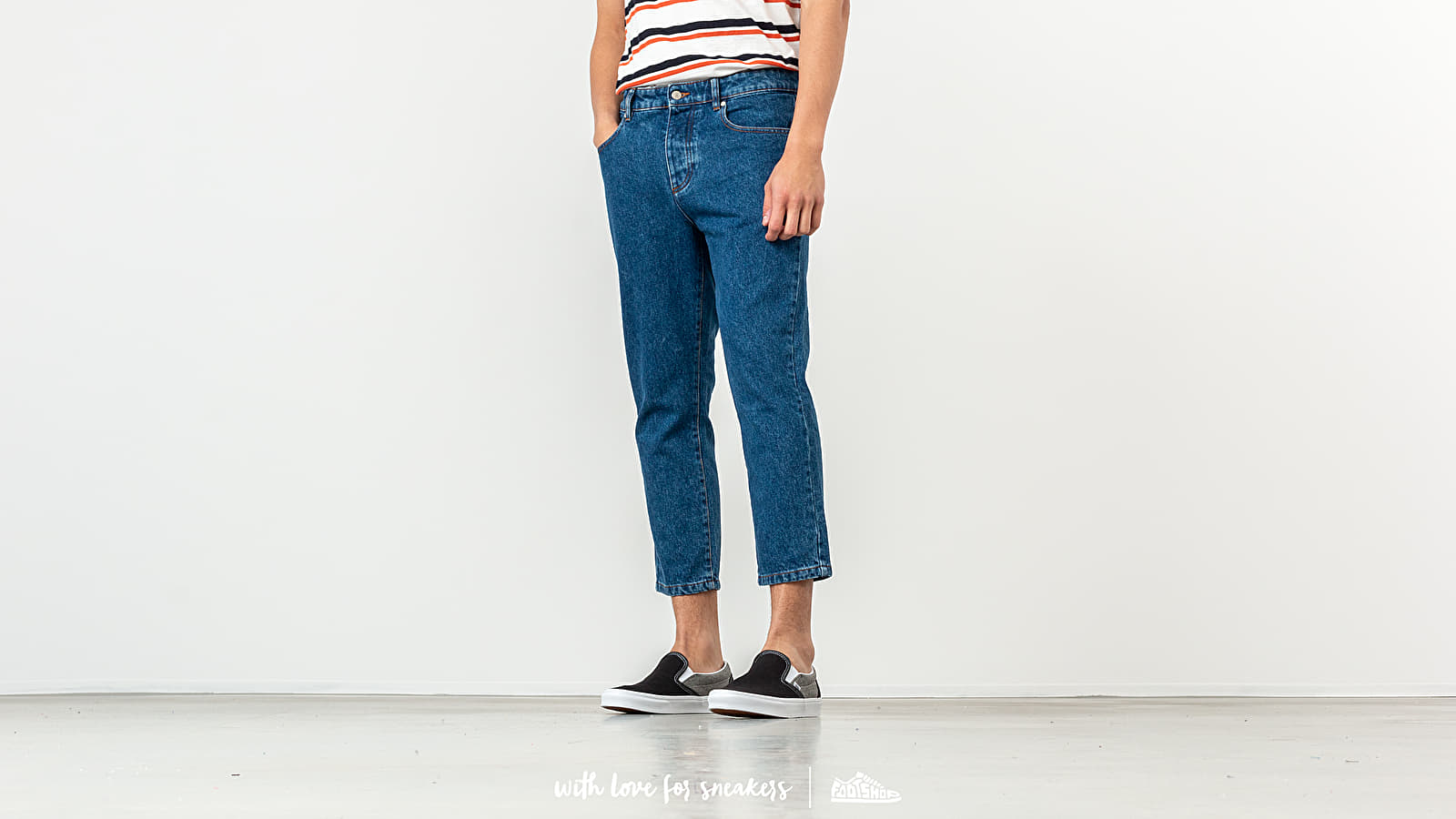 Alexandre Mattiussi Cropped Jeans Washed Blue at a great price 176 € buy at Footshop
