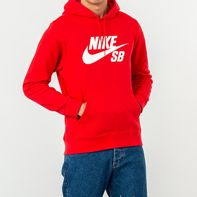 5c91fc550b Nike SB Icon Essential Hoodie Red M