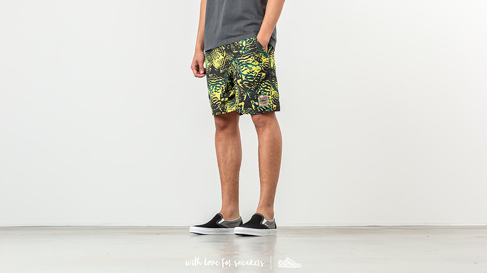 Billionaire Boys Club Fish Camo Shorts Yellow za skvelú cenu 227 € kúpite na Footshop.sk